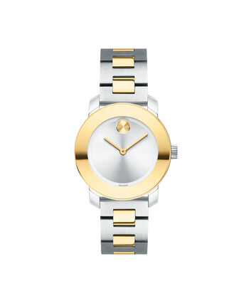 MOVADO Movado BOLD3600551 – 30 mm Metals bracelet watch - Front view