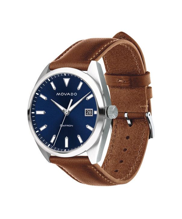 MOVADO Movado Heritage Series3650057 – Men's 39 mm strap watch - Side view