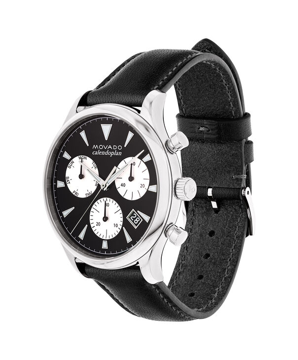 MOVADO Movado Heritage Series3650005 – Men's 43 mm strap chronograph - Side view