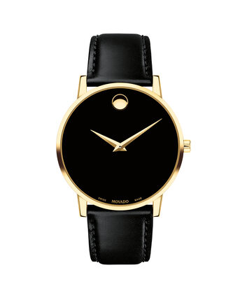 MOVADO Museum Classic0607271 – Men's 40 mm strap watch - Front view