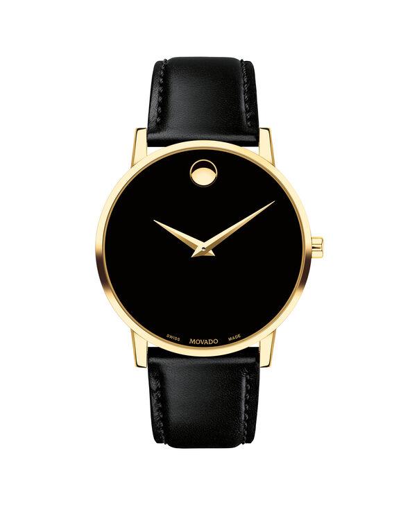 8215b1d064ea MOVADO Museum Classic0607271 – Men s 40 mm strap watch - Front ...