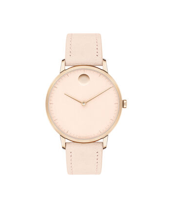 MOVADO Movado Face3640011 – Women's 35 mm strap watch - Front view