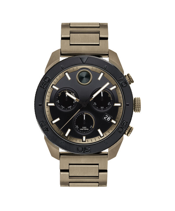 MOVADO Movado BOLD3600513 – 44.5 mm BOLD Sport strap watch - Front view