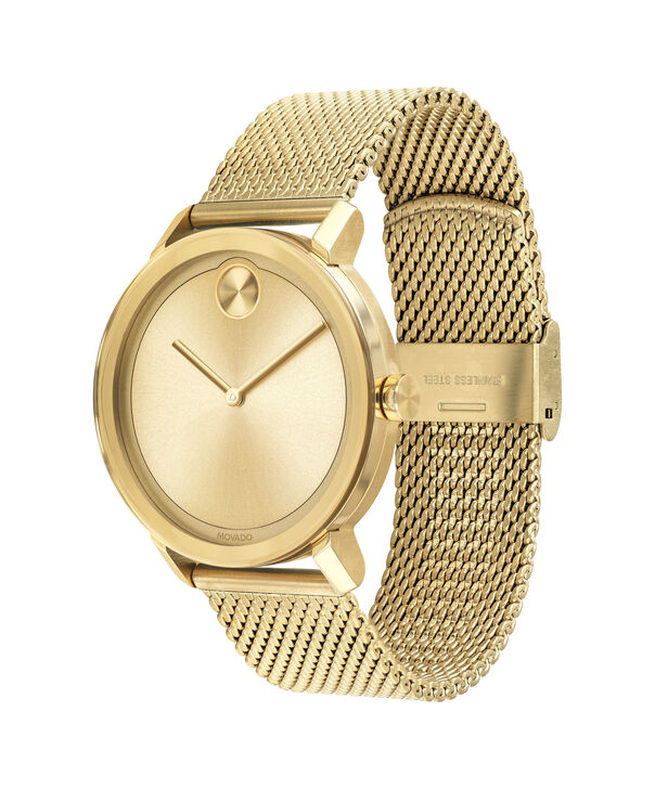 MOVADO Movado BOLD3600560 – Men's 40 mm bracelet watch - Side view