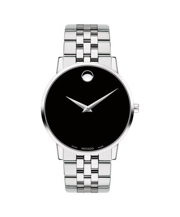 MOVADO Museum Classic0607199 – Men's 40 mm bracelet watch - Front view