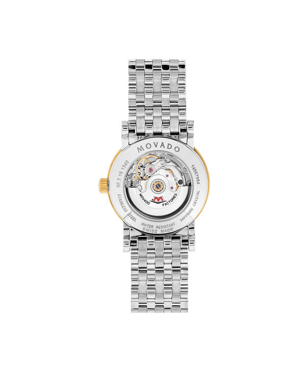 MOVADO Red Label0607011 – Women's 26 mm automatic strap watch - Back view
