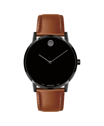 MOVADO Museum Classic0607321 – Men's 40 mm strap watch - Front view