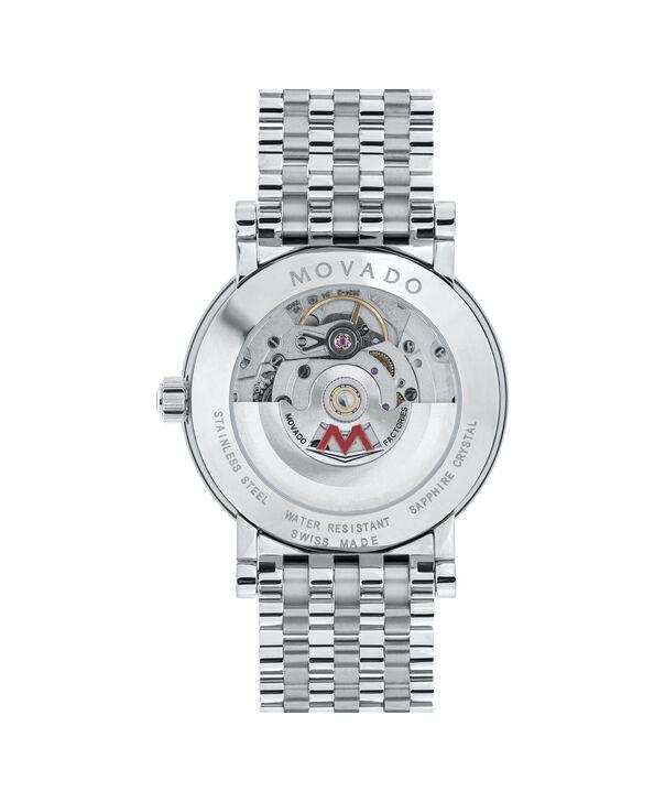 MOVADO Red Label0606115 – Men's 38 mm automatic bracelet - Back view