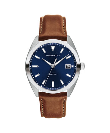 MOVADO Movado Heritage Series3650057 – Men's 39 mm strap watch - Front view