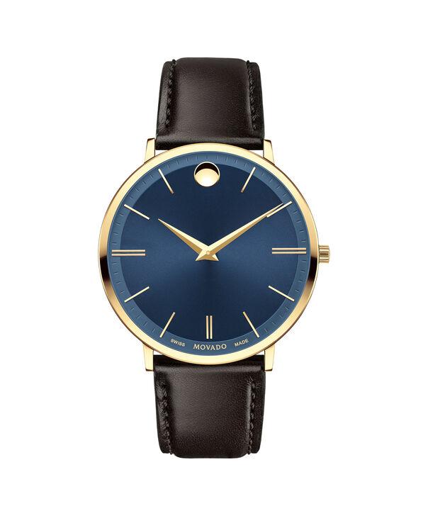 438b90813c6 MOVADO Movado Ultra Slim0607088 – Men s 40 mm strap watch - Front ...