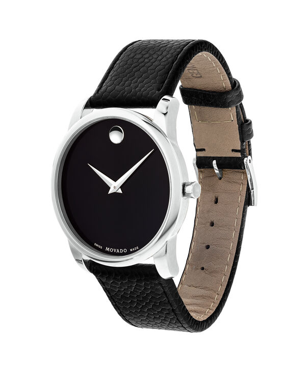 MOVADO Museum Classic 0607012 – Men's 40 mm strap watch - Side view
