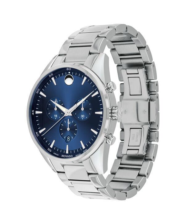 MOVADO Stratus0607248 – Men's 42 mm bracelet chronograph - Side view