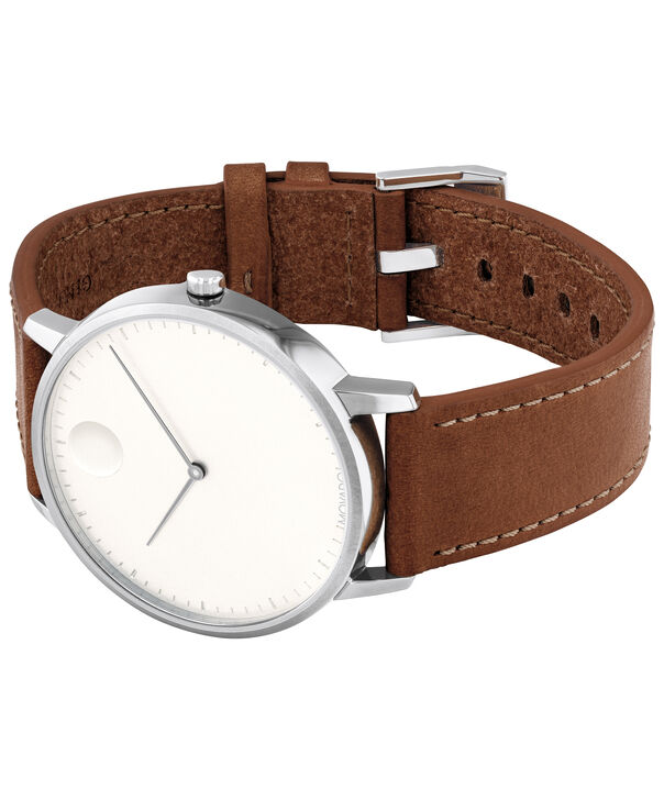 MOVADO Movado Face3640001 – Men's 41 mm strap watch - Side view