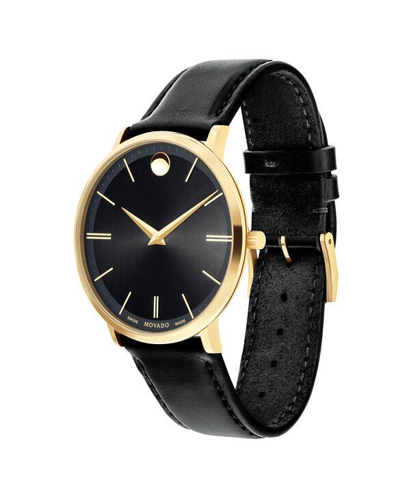MOVADO Movado Ultra Slim0607087 – Men's 40 mm strap watch - Side view