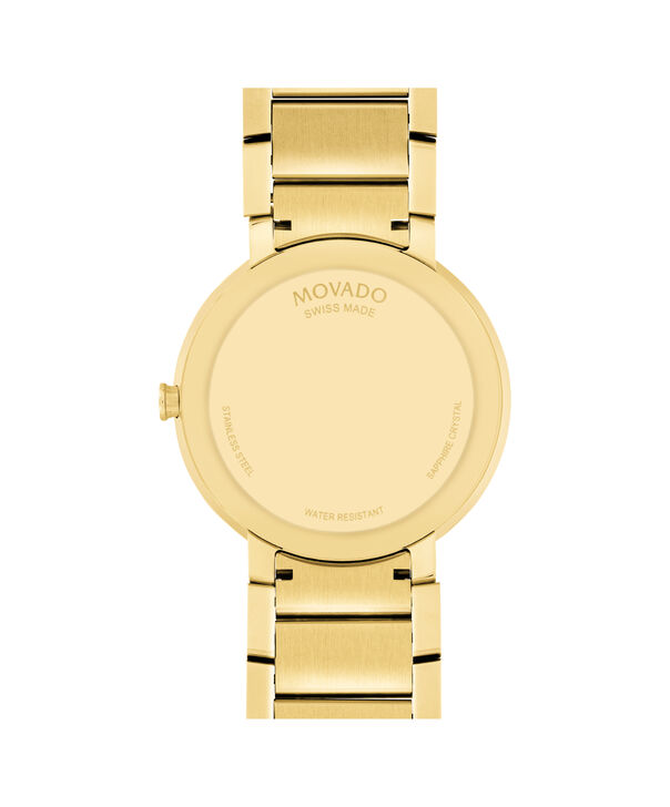 MOVADO Sapphire0607180 – Men's 39 mm bracelet watch - Back view