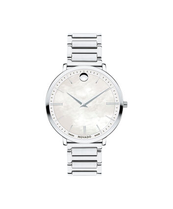 MOVADO Movado Ultra Slim0607170 – Women's 35 mm bracelet watch - Front view