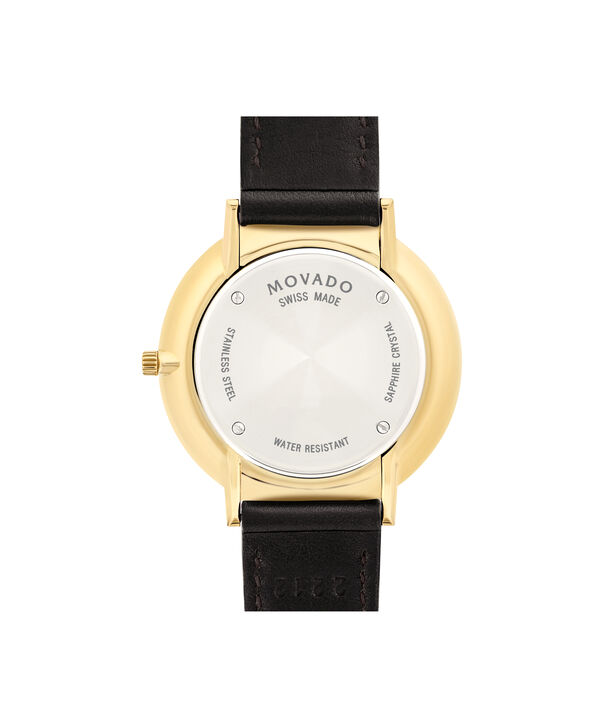 MOVADO Movado Ultra Slim0607092 – Mid-Size 35 mm strap watch - Back view