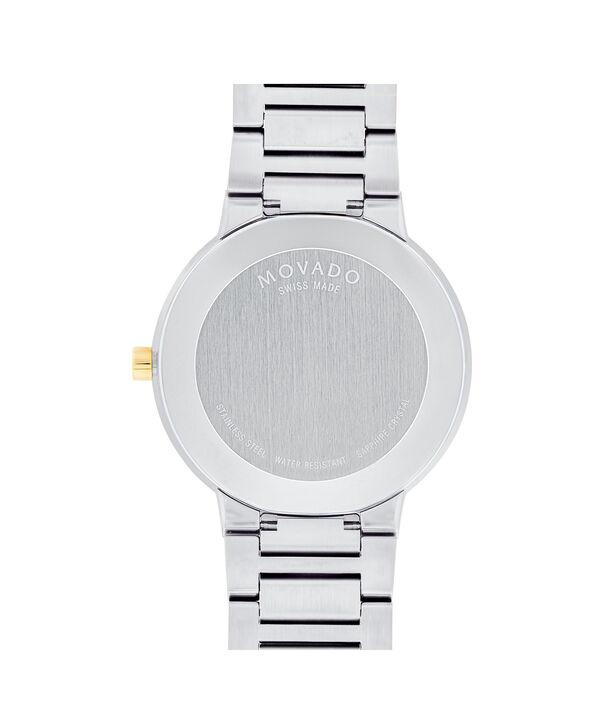 MOVADO Modern Classic0607120 – Men's 39.5 mm bracelet watch - Back view