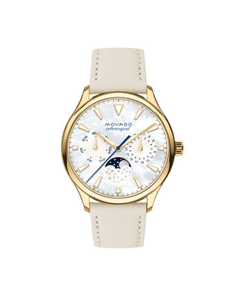 MOVADO Movado Heritage Series3650072 – Women's 36 mm strap watch - Front view