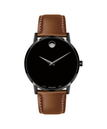 0228c09d69cf7 MOVADO Museum Classic0607273 – Men s 40 mm strap watch - Front view