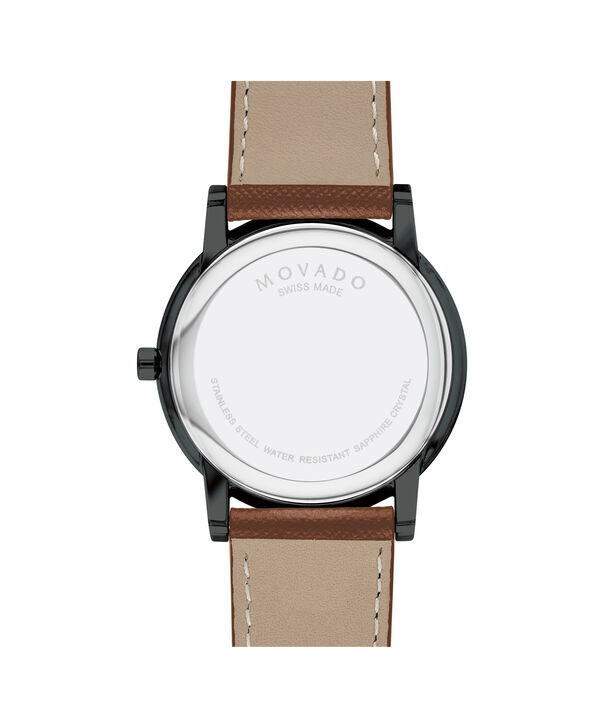 MOVADO Museum Classic0607198 – Men's 40 mm strap watch - Back view