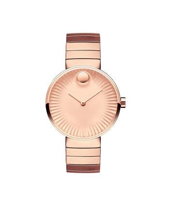 MOVADO Movado Edge3680016 – Women's 34 mm bracelet watch. - Front view