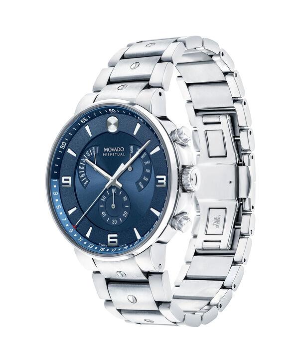 MOVADO SE Pilot0607129 – Men's 42 mm bracelet chronograph - Side view