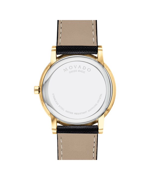 MOVADO Museum Classic0607195 – Men's 40 mm strap watch - Back view