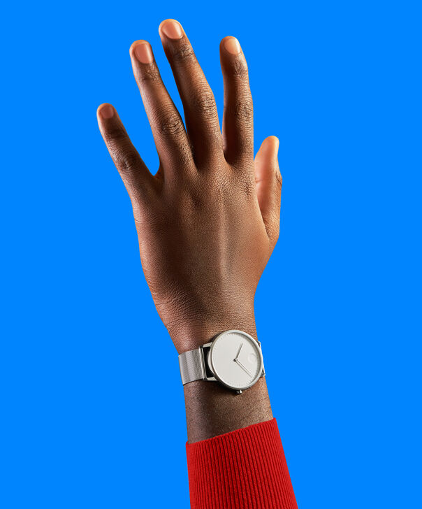 MOVADO Movado Face3640006 – Men's 41 mm bracelet watch - Back view