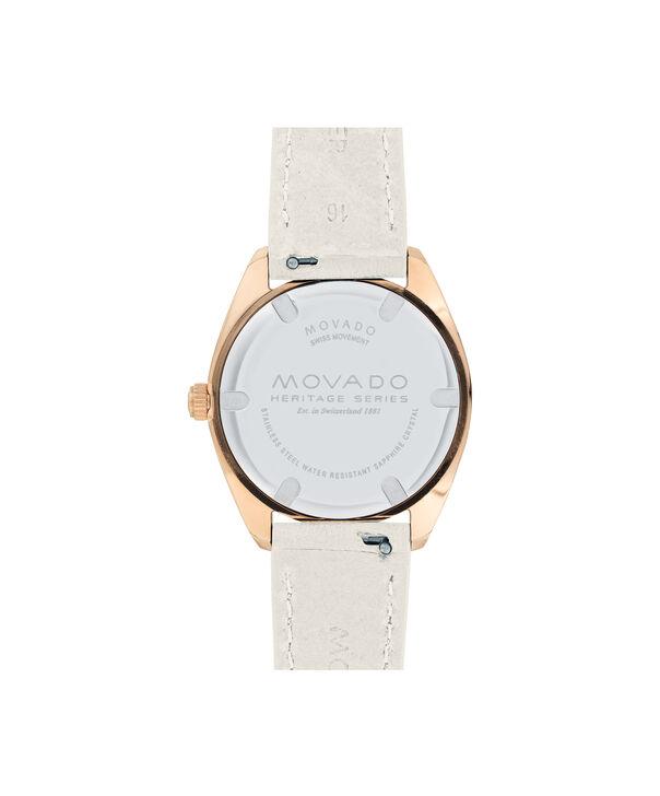 MOVADO Movado Heritage Series3650064 – Women's 31 mm bracelet watch - Back view