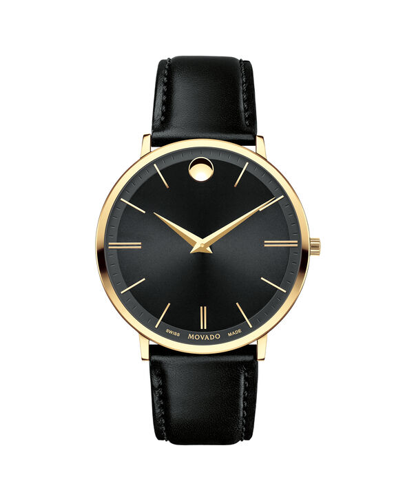 MOVADO Movado Ultra Slim0607087 – Men's 40 mm strap watch - Front view