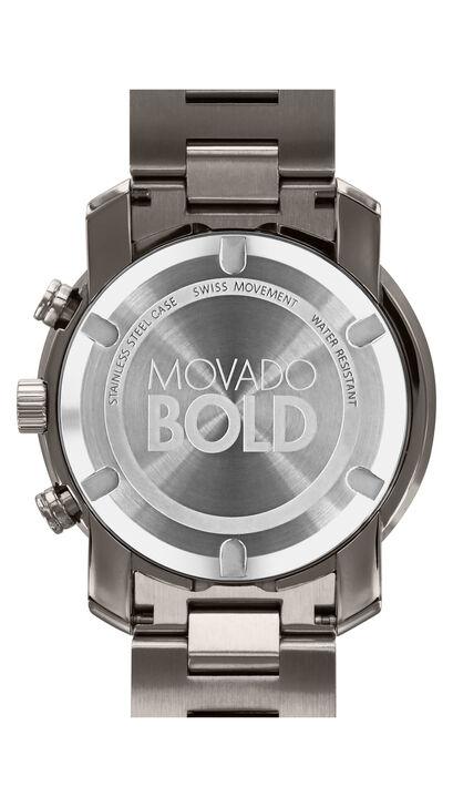 MOVADO Movado BOLD3600277 – 44 mm Metals bracelet chronograph - Back view