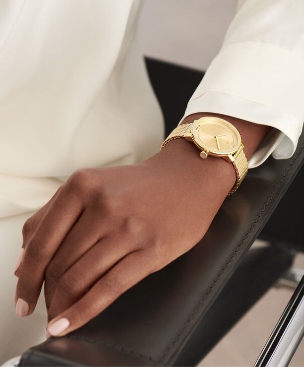 MOVADO Movado BOLD3600580 – 34 mm yellow gold bracelet watch - Other view
