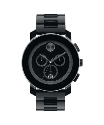 MOVADO Movado BOLD3600048 – 43.5 mm TR90 bracelet chronograph - Front view