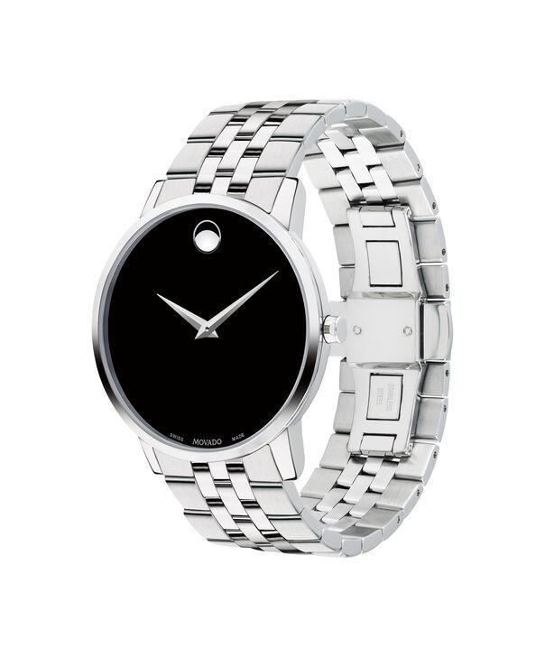 ee0b920976608 ... MOVADO Museum Classic0607199 – Men s 40 mm bracelet watch - Side ...