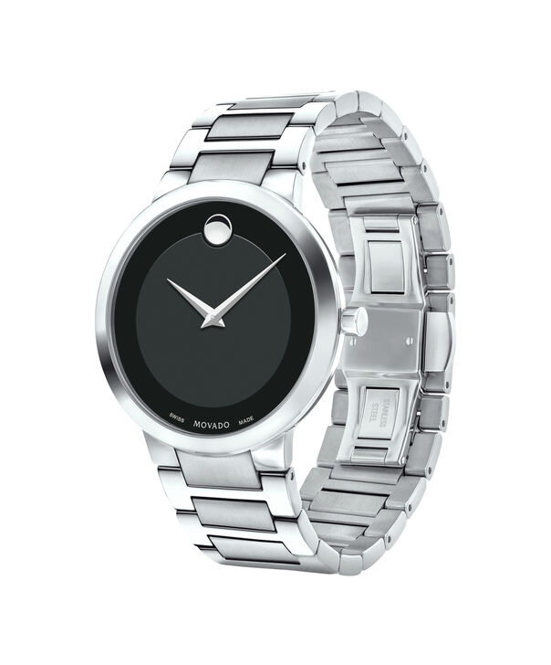 MOVADO Modern Classic0607119 – Men's 39.5 mm bracelet watch - Side view