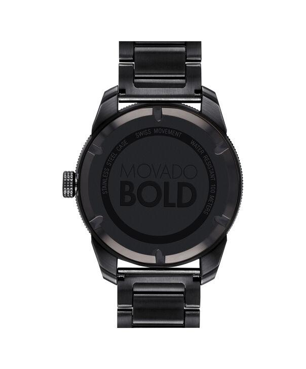 MOVADO Movado BOLD3600512 – 43.5 mm BOLD Sport bracelet watch - Back view