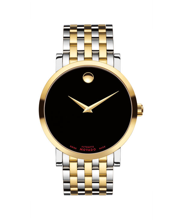 MOVADO Red Label0607008 – Men's 42 mm automatic bracelet watch - Front view