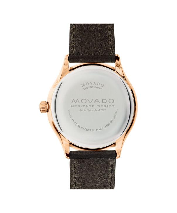 MOVADO Movado Heritage Series3650020 – Men's 42 mm strap watch - Back view
