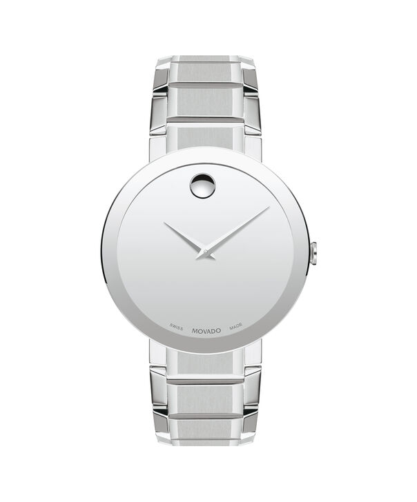 MOVADO Sapphire0607178 – Men's 39 mm bracelet watch - Front view