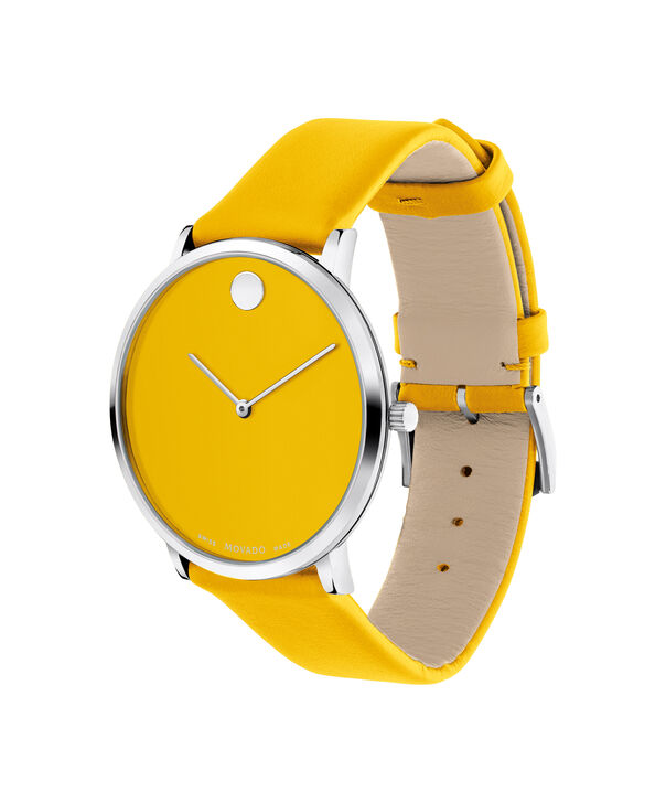MOVADO Modern 470607252 – Movado.com EXCLUSIVE 40mm strap watch - Side view