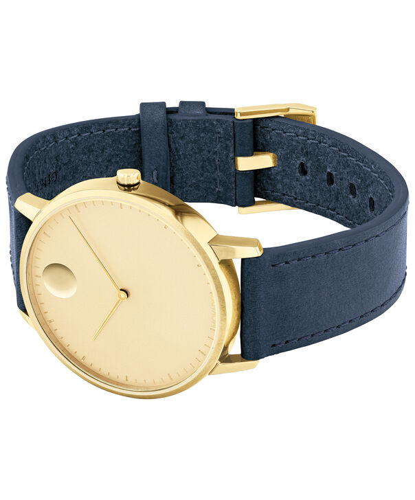 MOVADO Movado Face3640005 – Men's 41 mm strap watch - Side view