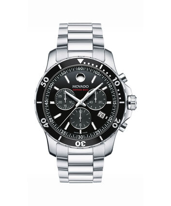MOVADO Series 8002600142 – Men's 42 mm bracelet chronograph - Front view