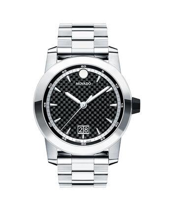 MOVADO Vizio0607050 – Men's 44 mm bracelet watch - Front view