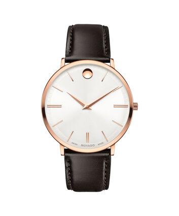 5267a0fa9db MOVADO Movado Ultra Slim0607089 – Men s 40 mm strap watch - Front view