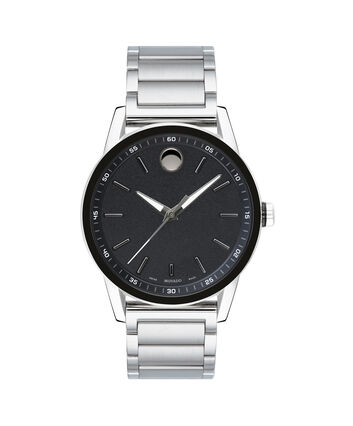 MOVADO Museum Sport0607225 – Men's 43 mm bracelet watch - Front view