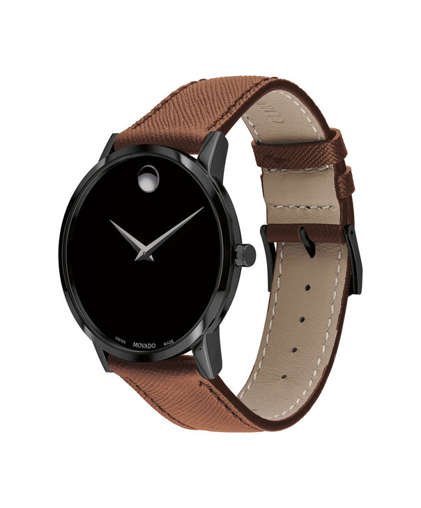 MOVADO Museum Classic0607198 – Men's 40 mm strap watch - Side view