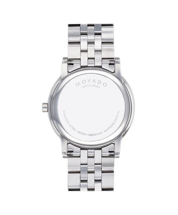MOVADO Museum Classic0607201 – Men's 40 mm bracelet watch - Back view