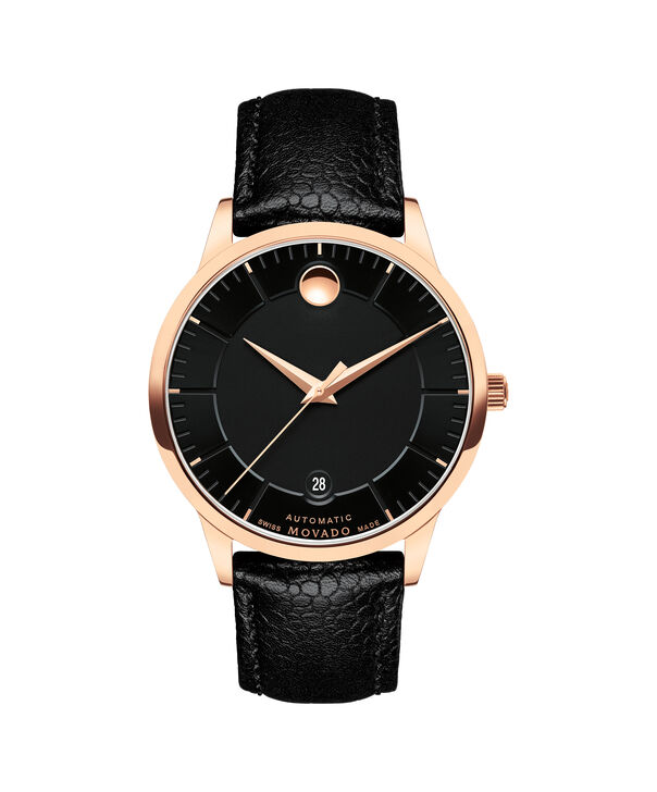 Movado | 1881 Automatic Stainless Steel watch with black dial