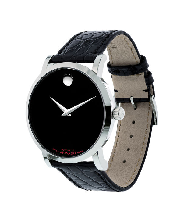 MOVADO Red Label0606112 – Men's 42 mm automatic strap watch - Side view